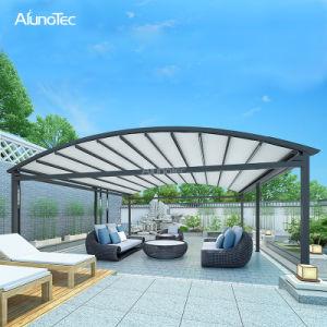 Personalizar el techo terraza exterior de aluminio toldo retráctil