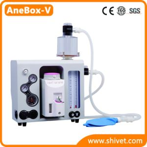 Máquina animal de la anestesia de la máquina veterinaria de la anestesia (AneBox-V)