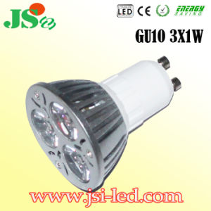CE&RoHS 3*1W Dimmable LED GU10 SMD Punkt-Licht (Y)