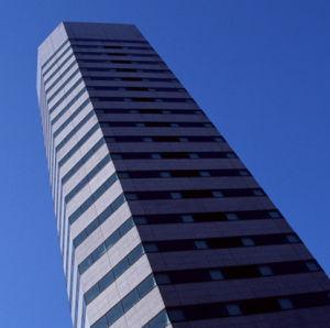 Edificio de estructura de acero de gran altura (HX12070516, han expoted 200, 000 toneladas)