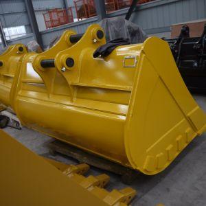 Standardgrößen-hydraulischer Exkavator Soem-20t, der Schlamm-Wanne/Wannen-Zerkleinerungsmaschine für Exkavator kippt
