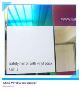 3mm 4mm 5mm 6mm 8mm de Zilveren Spiegel van de Veiligheid met Vinyl Achter kat-I &Cat-ii het Gebruikte Glas Van uitstekende kwaliteit van de Vlotter