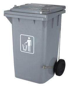Lato-Wheel Garbage Bin (B-002A) del Piede-Pedal di 100L Plastic