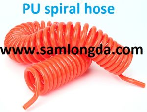 PU neumática de la manguera de aire en espiral (PUC1065)