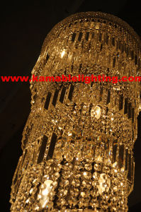 Hotel-Projekt-Kristallleuchter-nach Maß dekorative Lampe (Ka866)