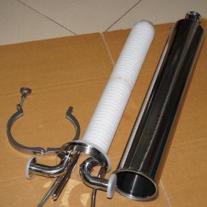 CIP System를 위한 스테인리스 Steel Filter Housing