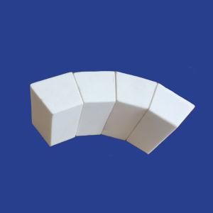 Fodera di ceramica del cono dell'allumina per il tubo resistente dell'abrasione