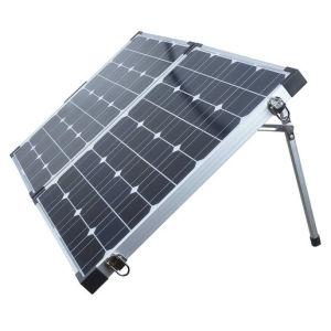 80W Складная солнечная панель для зарядки аккумулятора 12 В