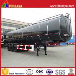 3半車軸35m3ミネラル樹脂のアスファルト輸送のタンカーのトレーラー