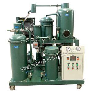 Venta caliente amplia aplicación purificador de aceite lubricante de vacío