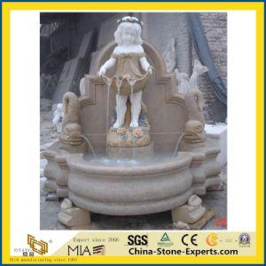De witte Marmeren Vrouwelijke Fontein van de Steen van Oudoor van het Standbeeld