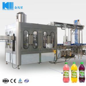 Automatische Plastikflaschen-Tee-Getränkewarmeinfüllen-Maschinerie