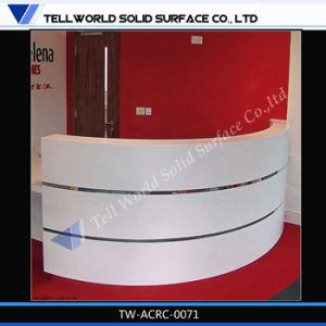 Горячая продажа LED салон со стойкой регистрации кассы