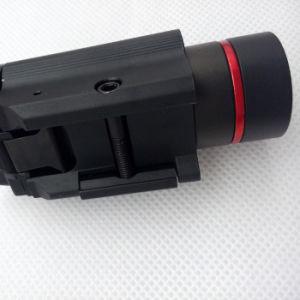 ストロボレーザーとの戦術的な赤レーザーの視力そして200内腔のクリー族Q5 LEDの軽いコンボ