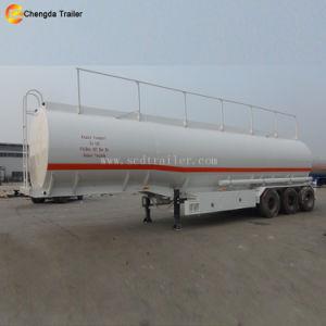 반 연료 이동 탱크 3 차축 45000L 유조선 트레일러