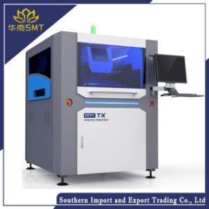 Automatización semi Pasta de soldadura SMD de alta precisión Galería de la pantalla de la máquina impresora