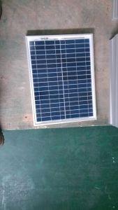 Panel Solar policristalino 5W para el inicio Solar Sistema de iluminación LED