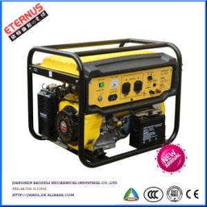 De fabricación China sola/Tres Hogar 7kw Generador Gasolina SH7500GL