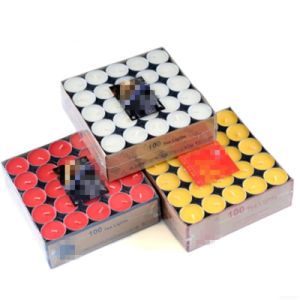 Farbige handgemachte duftende Tealight Kerze
