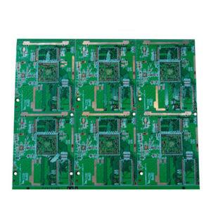 Volta rápida 100% e teste a placa rígida PCB