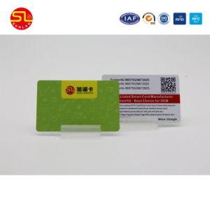 Scheda del PVC RFID dello Smart Card stampata Cr80 di prezzi di fabbrica con ISO14443 ISO15693 ISO7816
