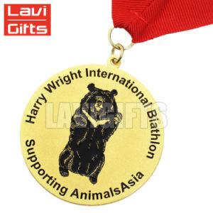 Comercio al por mayor de metal personalizados de alta calidad de la medalla de viejos recuerdos