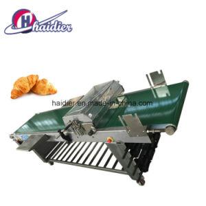 Croissant die Tot Lopende band maken de Automatische Machine van het Afgietsel van de Croissant