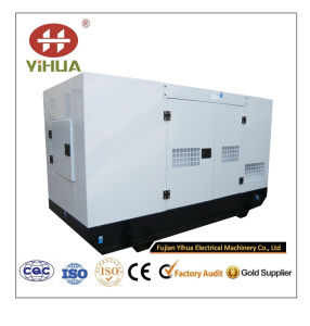 stille die Diesel 10kVA-62.5kVA Yangdong met Goedkeuring Ce/Soncap/CIQ wordt geplaatst