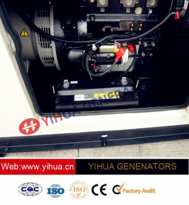 20kVA 25kVA 30kVA 40kVA 50kVA 75kVAの電力の無声ディーゼル発電機[IC180208c]
