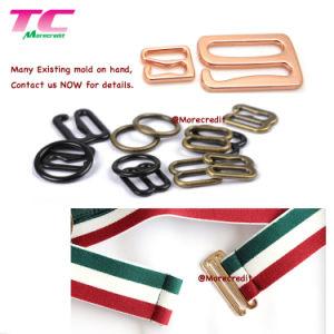 49e98b5ce Acessórios de lingerie Bra Shorts Ajustador fivelas de metal-metal Bra  sliders de anéis e