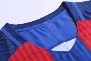 最新のサッカージャージーデザイン/スポーツジャージー新しいモデル/タイの品質サッカージャージー