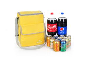 Isolation portable en nylon de promotion de gros déjeuner sac du refroidisseur