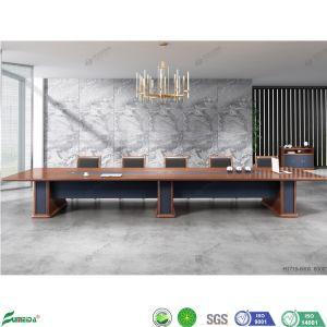 Mobiliário de madeira Modular Moder Nmeeting Apartamento Luxo Turismo Office Mesa de conferência