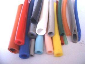 Tubo flessibile variopinto della gomma di silicone del commestibile