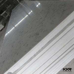 Kingkonreeの大理石は人工的な石造りポリエステル樹脂の固体表面を見る