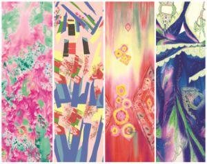 中国の卸し売り印刷された方法スカーフ(C-033)