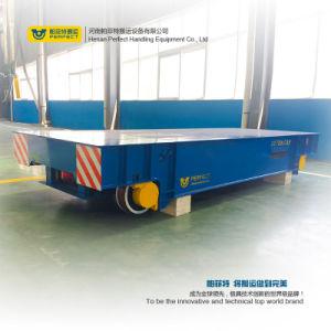 Operado a bateria de carro de transferência para os equipamentos de manuseio de material sobre carris