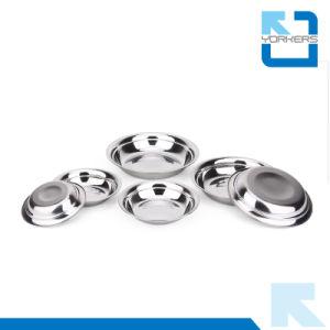 Forme ronde Anti-Spill 201 Dîner en acier inoxydable assiette à soupe & plaque plat