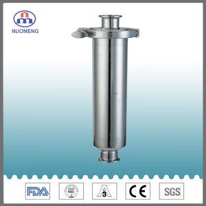 Het sanitaire Roestvrij staal klemde Rechte Zeef vast (iDF-Nr. NM100202)
