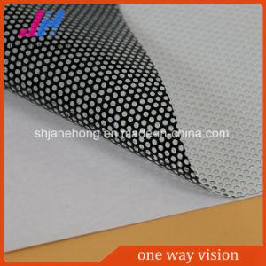 A visão de uma via adesivo para o material de impressão