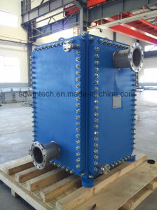 Permutador de calor como o condensador e o vaporizador