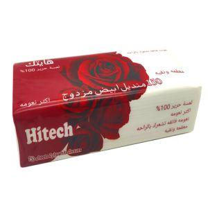 Kuwait No-Embossing branca personalizada espessada e papel tecido suave