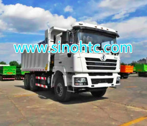 SHACMAN de Vrachtwagen van de de vorm8X4 SHACMAN Kipper van U van de Vrachtwagen van de stortplaats
