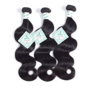 7A de qualité supérieure 100% naturel brut Cheveux humains brésilien Virgin Remy