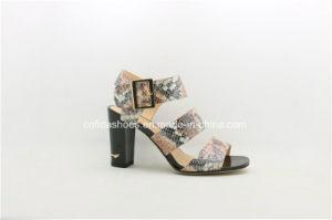 Dernière mode Trendy glands haut talon sandale de femmes