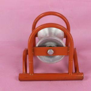 El equipo de tendido de cable de alambre de las ruedas de la polea