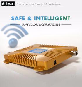 Amplificador de señal de oro 900/2100MHz Amplificador de señal 2G 3G de repetidor de señal con el diseño de moda de China