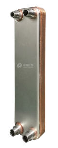 Intercambiador de calor de placas soldadas condensador/evaporador (AKN20A)