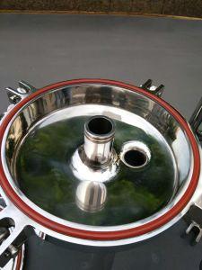 Aço Inoxidável de Filtração Industrial sanitárias de água do filtro de cartucho