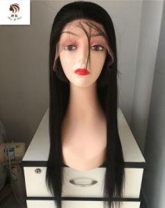 El mejor vendedor de calidad superior frontal de encaje peluca de cabello el Cabello Remy brasileño 9Una recta peluca 100% cabello humano.